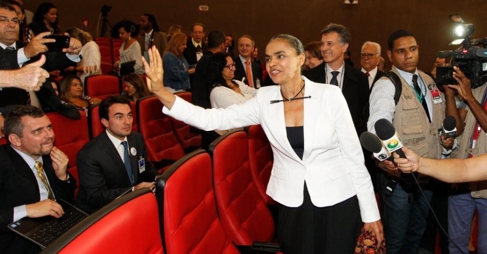 Antes de sessão decisiva, Marina Silva agradece torcida e se diz confiante