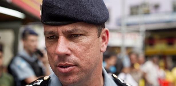 Major Edson Santos recebeu a maior pena entre os PMs condenados: 13 anos e 7 meses - Daniel Marenco/Folhapress