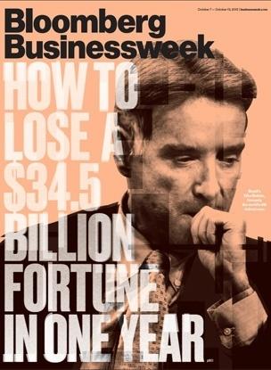 capa da Bloomberg Businessweek, com Eike Batista - Outubro de 2013