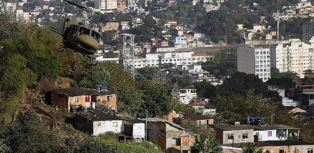 A favela Camarista Meier, em que a criança foi baleada, conta com uma UPP desde 2013 - Antonio Lacerda/Efe