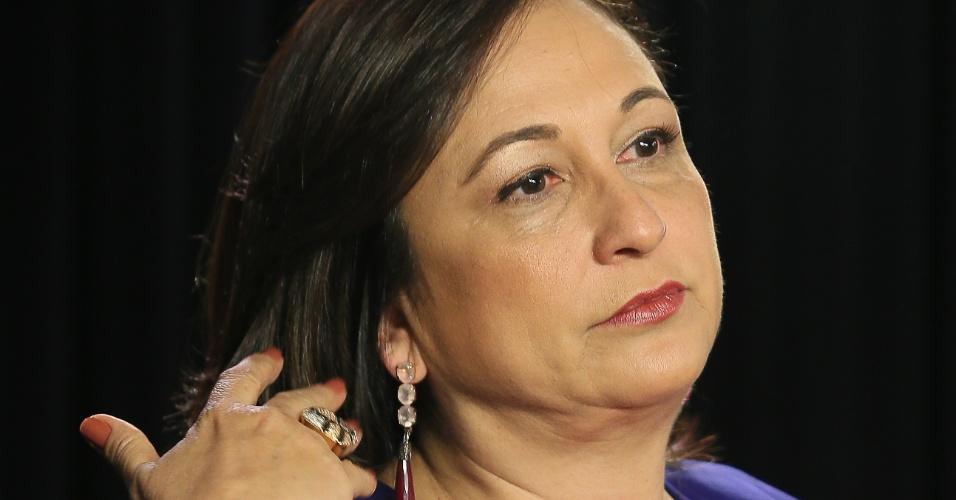 Senadora concedeu entrevista ao UOL e à Folha em 8 de outubro de 2013. A gravação ocorreu no estúdio do Grupo Folha em Brasília.
