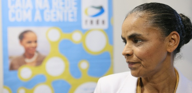 Marina durante evento da Rede; partido nega concentração de poder