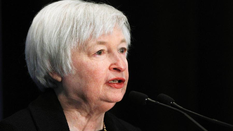Secretária do Tesouro dos Estados Unidos, Janet Yellen - Gary Cameron/Reuters
