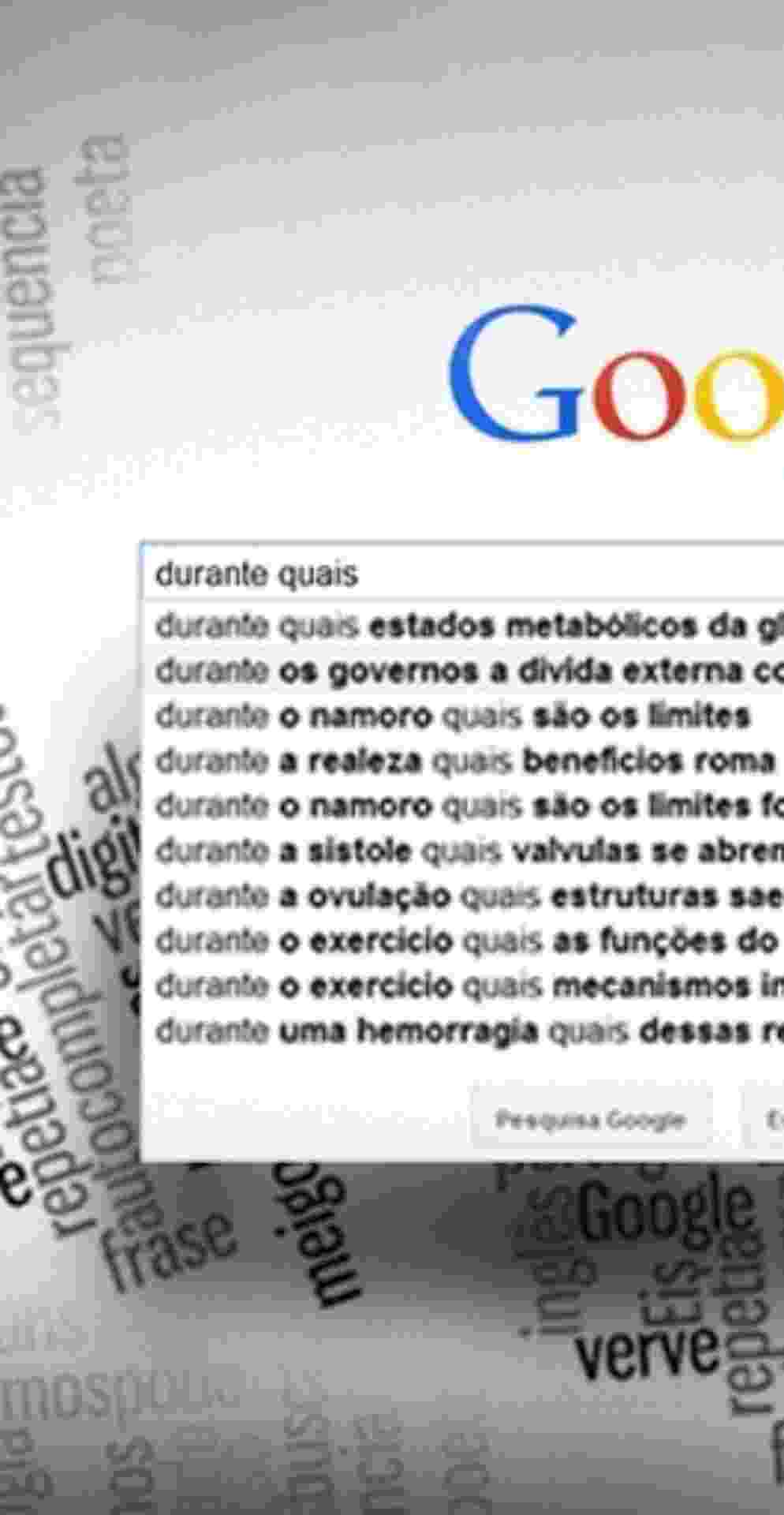 Fotos Google Prolixo Autocompletar Do Buscador Revela Frases
