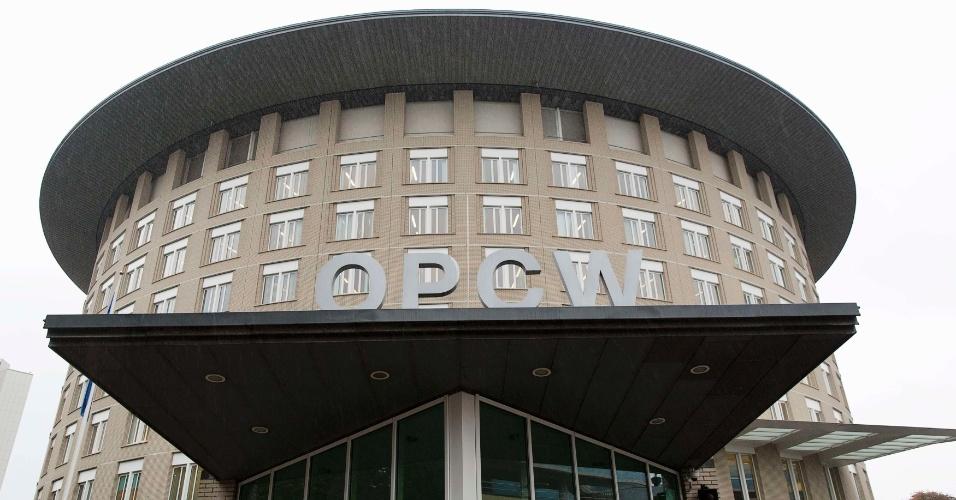 Sede da Opaq (Organização para a Proibição de Armas Químicas) em Haia (Holanda). A Organização é a vencedora do Nobel da Paz 2013.