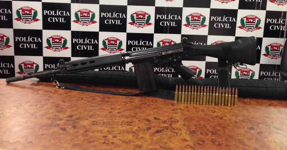 15.out.2013 - A Polícia Civil prendeu nesta terça-feira (15) o responsável por comandar as ações de uma facção criminosa na região de Campinas e Hortolândia