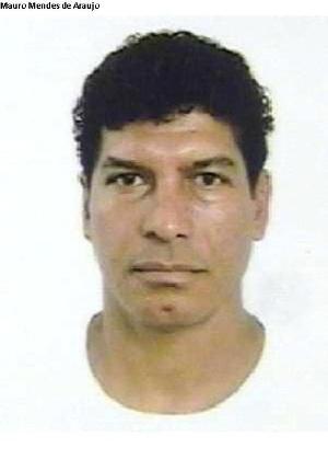 16.out.2013 - Mauro Mendes de Araujo, 53, é procurado por tráfico internacional e conspiração para venda de drogas