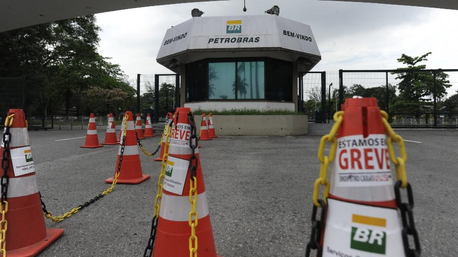 Petroleiros reivindicam valorização da segurança e emprego dos trabalhadores - Tânia Rêgo/Agência Brasil