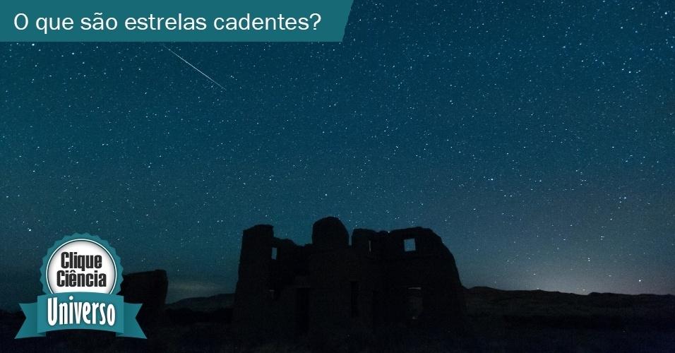21.out.2013 - Clique Ciência - Universo: O que são estrelas cadentes?