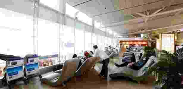 """Aeroporto de Incheon tem cinema, spa e """"sala do silêncio"""" - Incheon/Divulgação"""