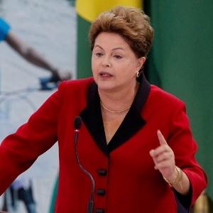 Presidente Dilma Rousseff, durante anúncio de investimentos em 24 de outubro