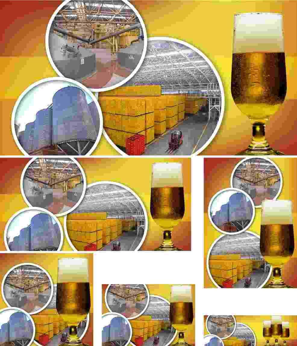 Chamadas matéria como se faz cerveja - Arte/UOL