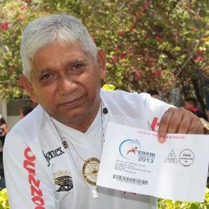 Mesmo aposentado, João Bosco Freitas, 65, quer fazer engenharia do meio ambiente - Jarbas Oliveira/UOL