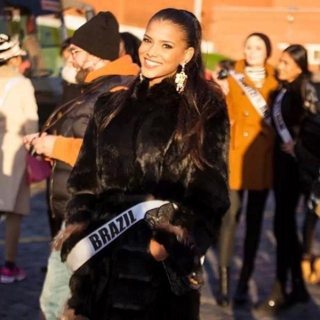 Ao se preparar para Miss Brasil, beldades fecham a boca ... Jakelyne Oliveira Instagram