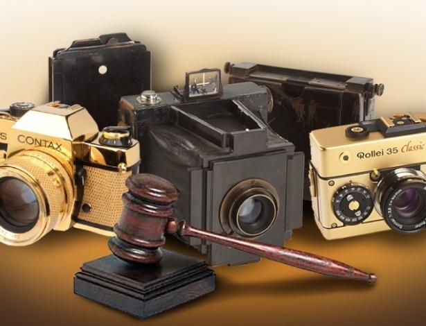 Conheça modelos raros de câmeras fotográficas vendidas em leilões