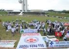 Ato em Brasília lança campanha em defesa do SUS - Antonio Cruz/Agência Brasil