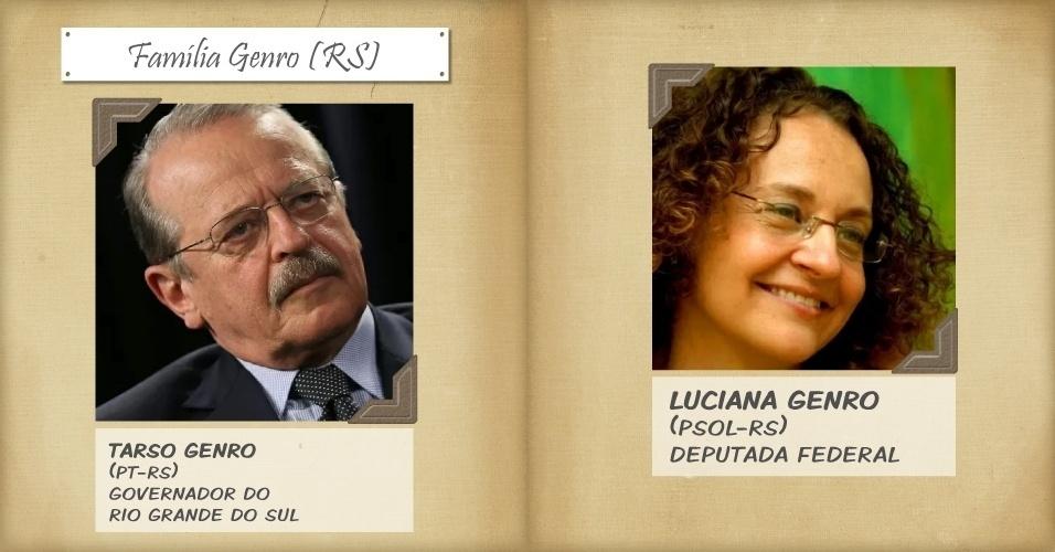 1º.nov.2013 - Luciana Genro, filha do governador do Rio Grande do Sul, Tarso Genro, é cotada pelo seu partido como provável candidata à presidência em 2014