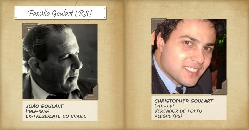 1º.nov.2013 - O vereador de Porto Alegre Christopher Goulart é neto do ex-presidente João Goulart, que foi deposto pelo golpe militar de 1964