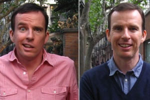 John Sudworth em novembro de 2012 e hoje
