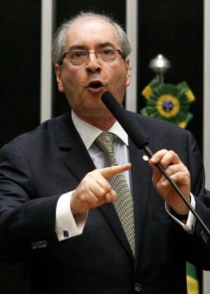 Eduardo Cunha, líder do PMDB, apresentou texto alternativo ao Marco Civil para derrotar proposta do governo - Pedro Ladeira/Folhapress