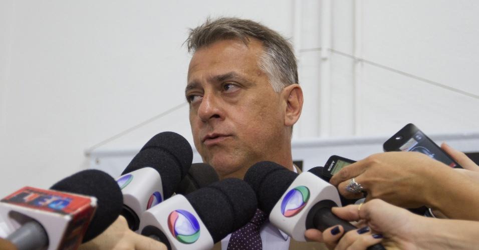 12.nov.2013 - O delegado Paulo Henrique Martins de Castro, responsável pela investigação do caso Joaquim. Castro afirmou que a investigação também vai analisar qual foi a motivação do crime