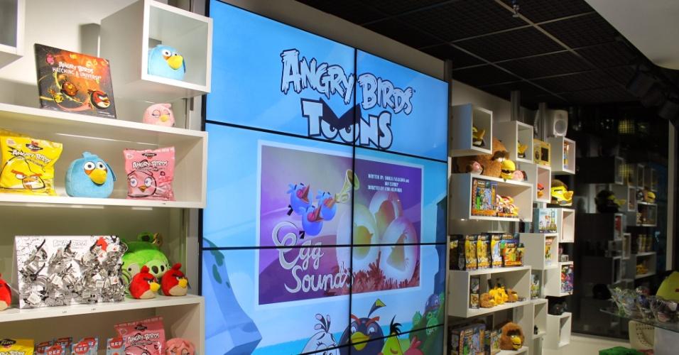 A finlandesa Rovio foi fundada em 2003 com o objetivo de criar jogos divertidos. Em 2009, após 51 games que não deram certo, a companhia lançou seu maior sucesso (e talvez um dos jogos para portáteis mais bem-sucedidos do mundo): ''Angry Birds''. Acima, a loja conceito que fica no escritório central da empresa, em Espoo (Finlândia)