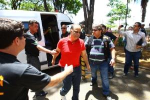 Barroso autoriza transferência de Valério para prisão de Lagoa da Prata (MG) (Foto: Frederico Haikal/Hoje Em Dia/Estadão Conteúdo)