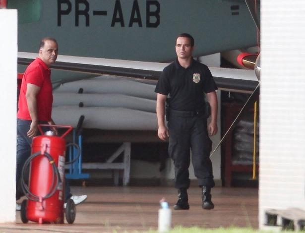 16.nov.2013 - O publicitário Marcos Valério em Brasília