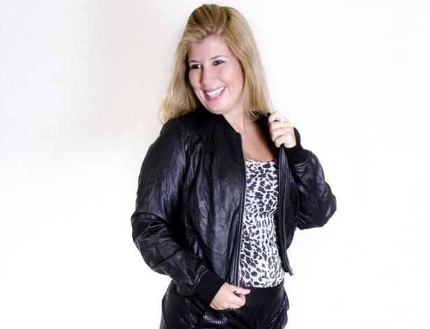 18.nov.2013 - A candidata Flávia Pinheiro, 39, de Jacarepaguá, é uma das participantes do concurso Miss Plus Size Carioca 2013. O evento acontece no próximo dia 23, às 20h, na Casa de Espanha, Salão Nobre, no bairro do Humaitá, no Rio. Nas categorias de premiações, além da Miss Plus Size Carioca 2013, há a coração de Vice Miss, Terceiro Lugar, Miss Simpatia, Miss Elegante e Miss Virtual