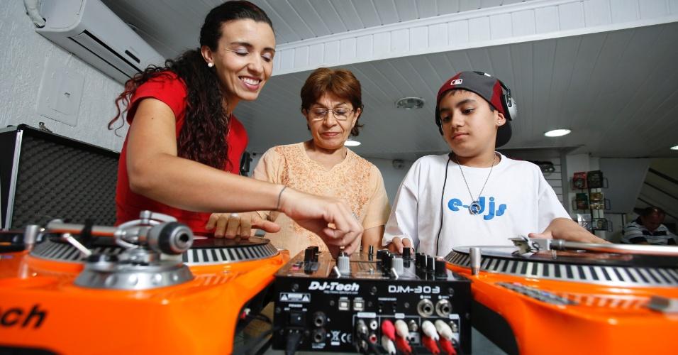 E-DJs, escola de DJ fundada pela empreendedora Lisa Bueno