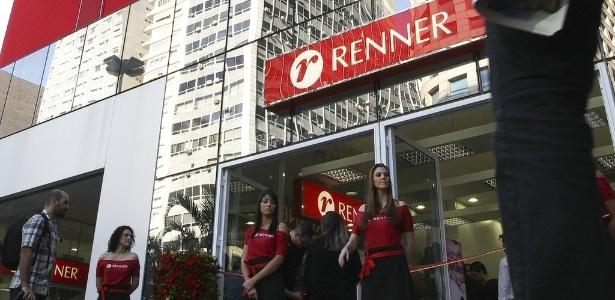 Fachada da loja Renner localizada na Avenida Paulista, em São Paulo - Folhapress
