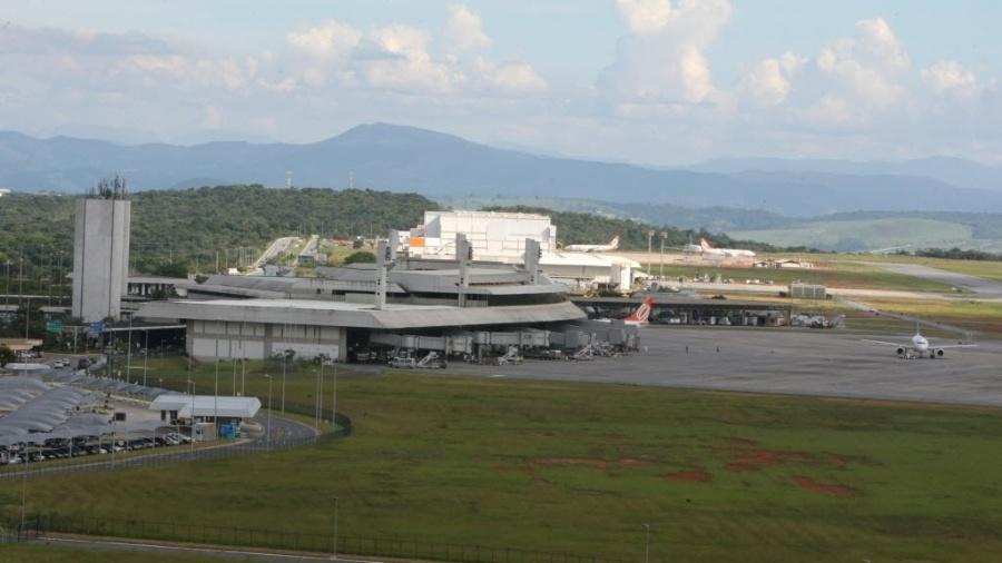 Aeroporto Internacional de Confins, em Minas Gerais - Lucas Prates/Jornal Hoje em DIa