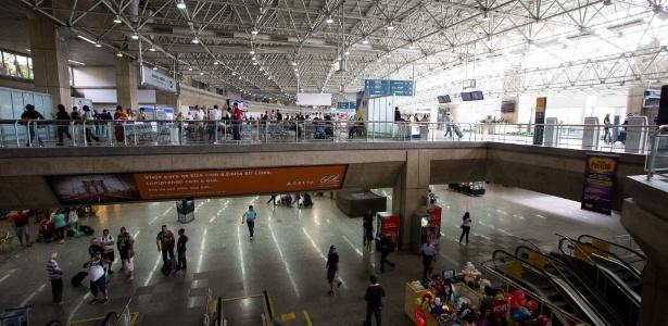 Aeroporto do Galeão, no Rio de Janeiro, é um dos que não terá obras prontas na Copa do Mundo