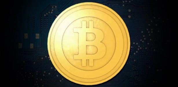 Símbolo da moeda bitcoin