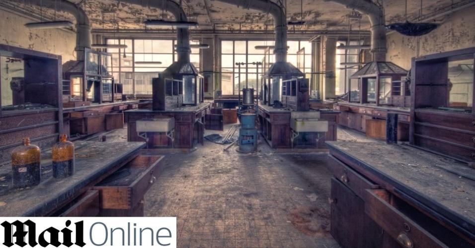 Campus de universidade está abandonado na Bélgica; veja fotos