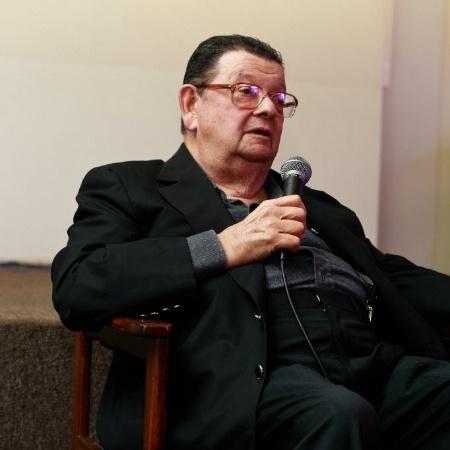 Delfim Netto durante palestra com jornalistas do grupo Folha, no auditorio do jornal - Marcelo Justo/Folhapress