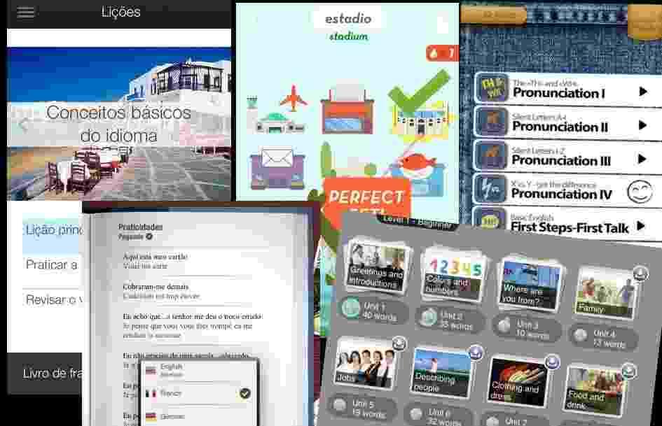 Aplicativos para celular Idiomas - Reprodução