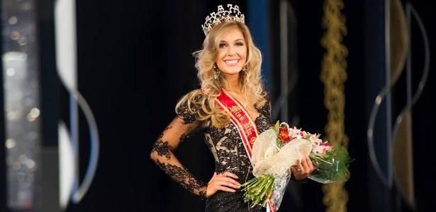 Marina Helms, 23, da cidade de São Lourenço do Sul, vencedora do Miss Rio Grande do Sul 2014