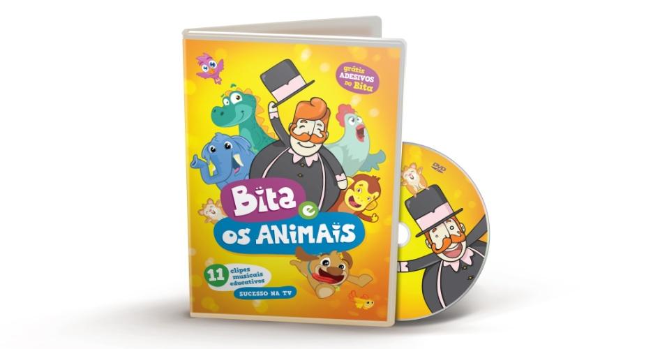 Bita e os Animais, personagem criado pela produtora Mr. Plot, de Recife (PE)
