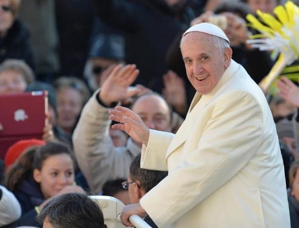 Com seu estilo simples, o Papa Francisco reflete suas crenças - Ettore Ferrari/Efe