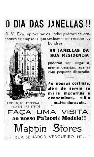 Propaganda antiga do Mappin