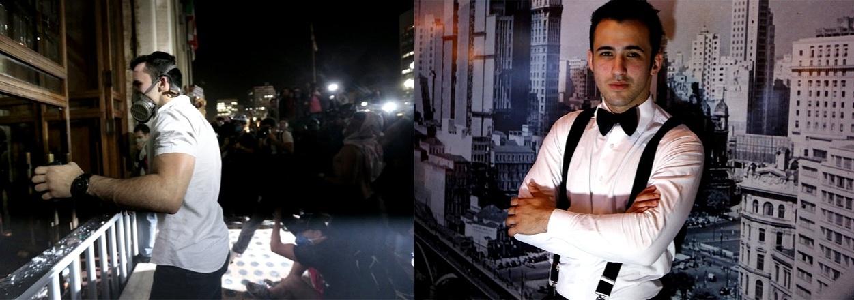5.dez.2013 - Em 18 de junho, o então estudante de arquitetura Pierre Ramon, 20, participou de sua primeira e, até agora, última manifestação. O jovem perdeu o emprego de garçom numa casa noturna do Itaim, bairro nobre da zona sul de São Paulo, depois que sua imagem foi veiculada como líder dos