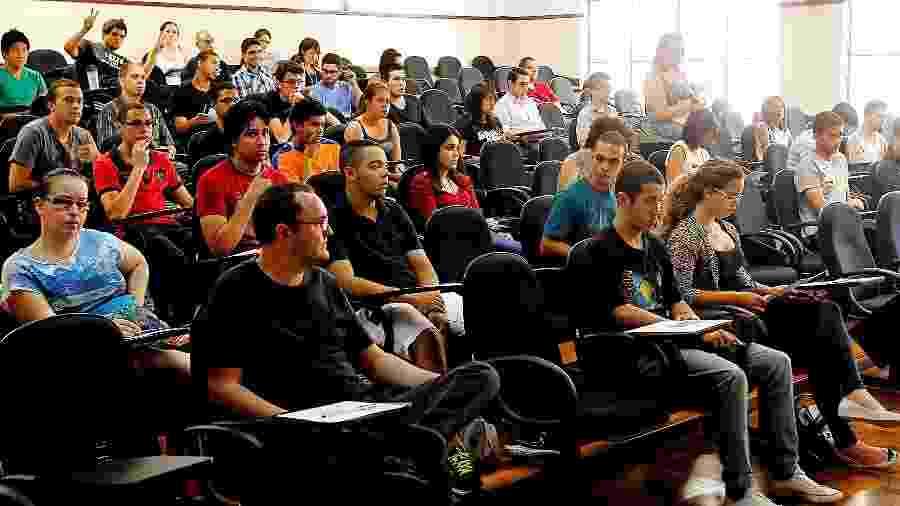 Serão 15,8 mil vagas para cursos de graduação tecnológica em todas as regiões do estado de São Paulo - Reinaldo Canato/UOL