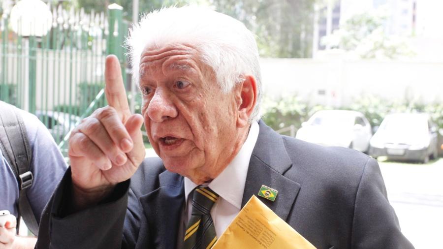 Carlos Alberto Augusto, conhecido como Carlinhos Metralha, foi agente da Ditadura Militar - Michel Filho/O Globo