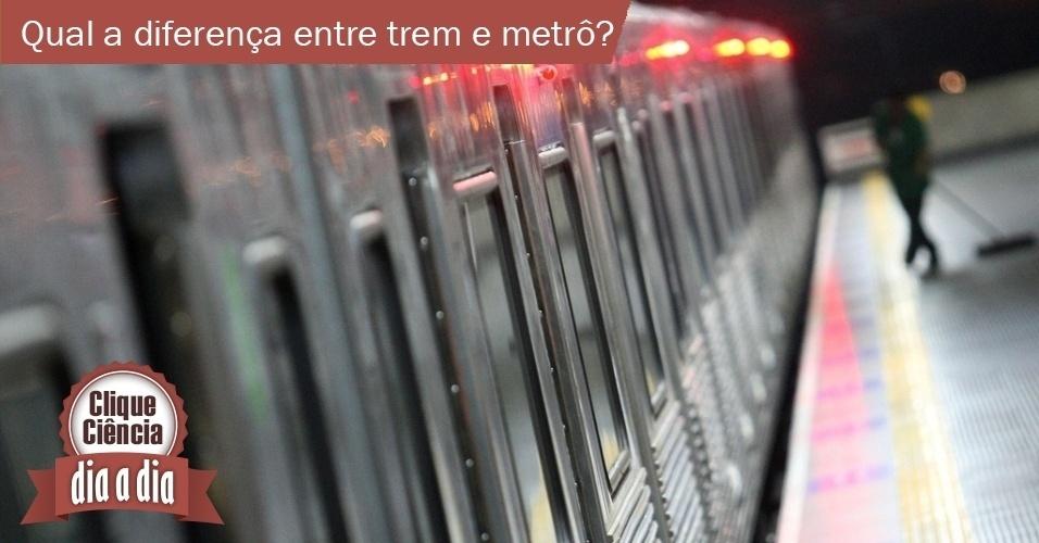 Clique Ciência: trem e metrô