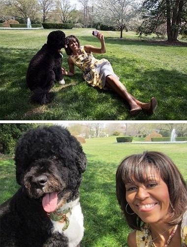 10.ago.2013 - A foto acima foi publicada no perfil do Instagram de Michelle Obama, primeira-dama dos Estados Unidos