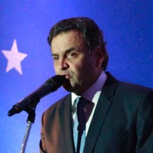 Aécio ao lançar esboço do programa de governo do PSDB para 2014 - Beto Nociti/Estadão Conteúdo