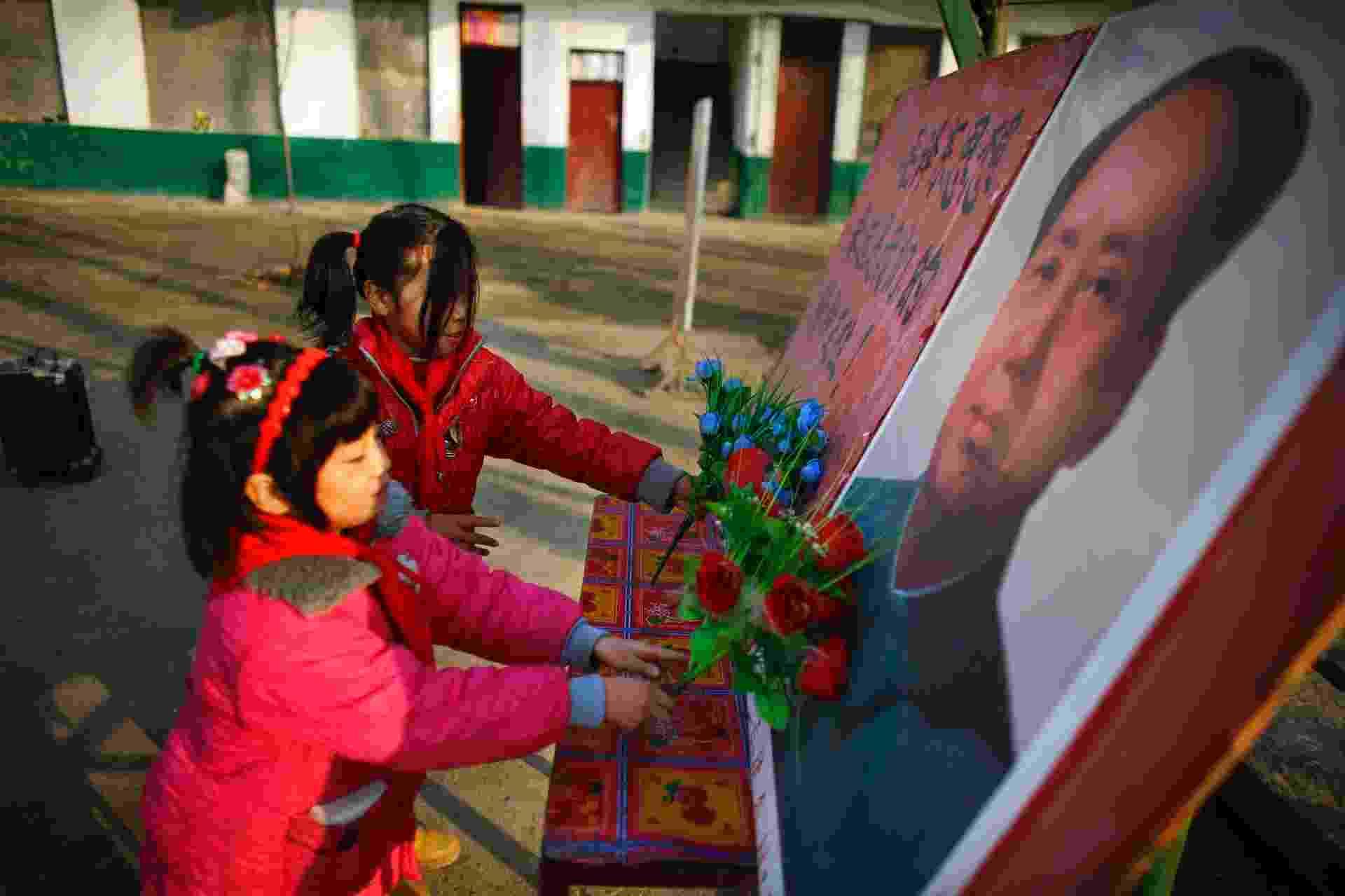Contra 'China capitalista', professor mantém escola com ensinamentos de Mao - Carlos Barria/Reuters