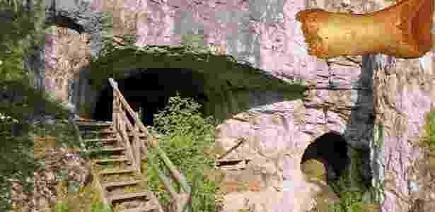 """O minúsculo osso de um dedo do pé de uma mulher neandertal (no detalhe acima à direita) que viveu há cerca de 50.000 anos revela que algumas linhagens humanas primitivas se miscigenaram antes que um único grupo, o """"Homo sapiens"""", ascendesse e dominasse os demais. O osso achado na caverna Denisova, na Sibéria, indica que vários grupos de hominídeos viveram ali ao longo dos anos: neandertais, Denisovans e homem moderno. Em estudo publicado nesta quarta-feira (18) na revista científica Nature, uma equipe reportou que o osso adiciona um conhecimento genético extraordinário sobre os nossos primos, os neandertais, que desapareceram cerca de 30.000 anos atrás - MPI f. Evolutionary Anthropology/ B. Viola"""