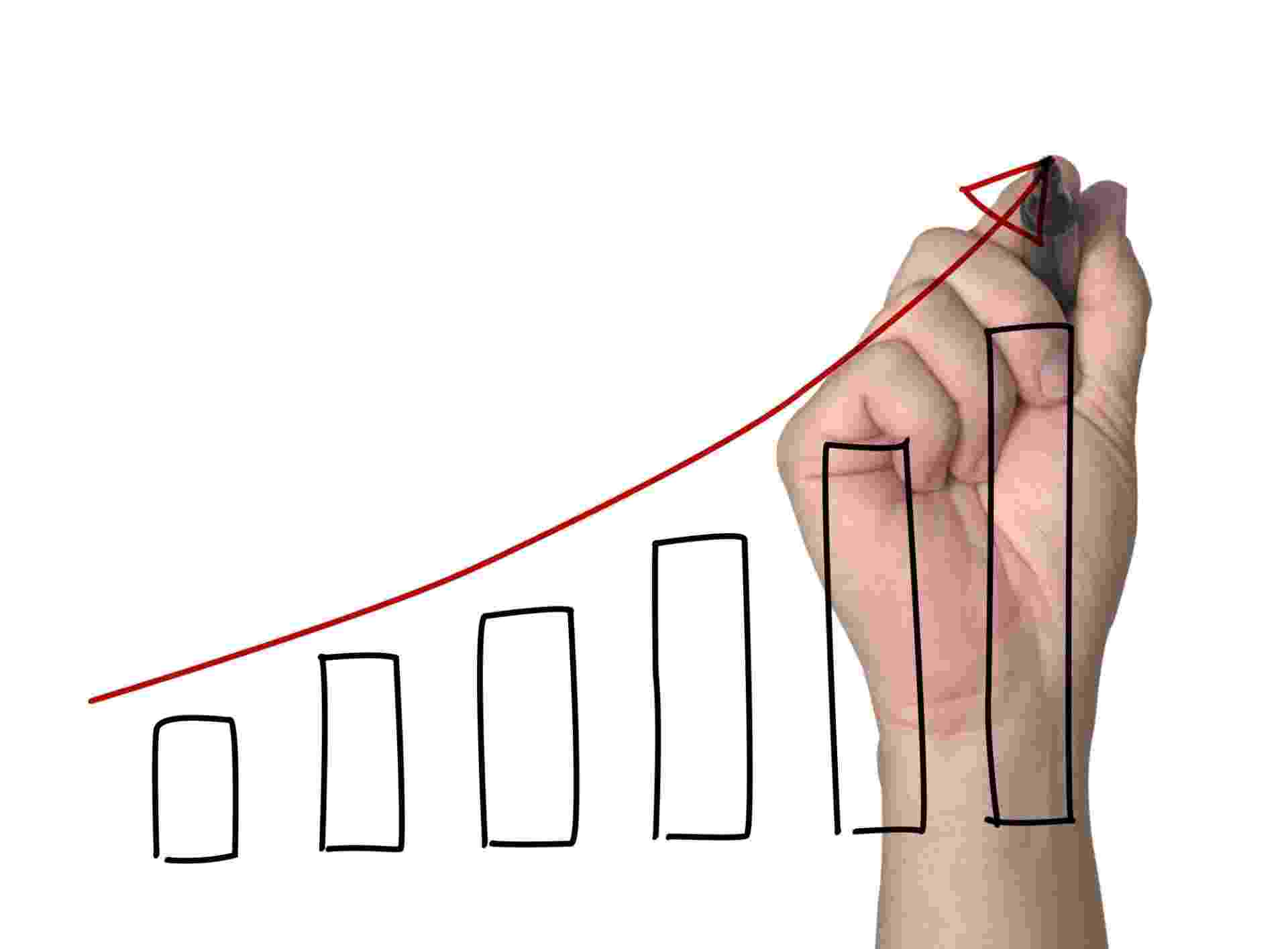 lucro, projeção, crescimento, gráfico, estimativa - Thinkstock